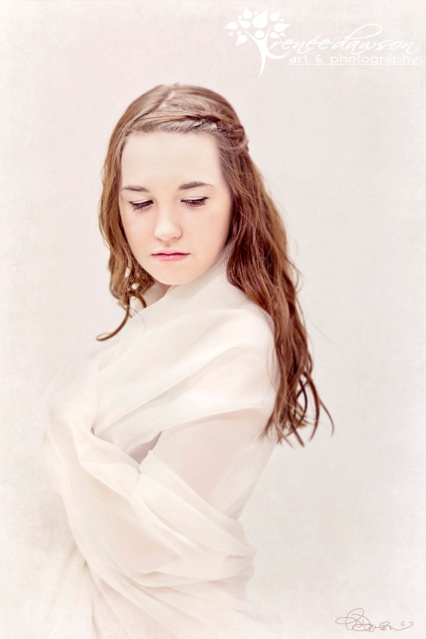 Winter Maiden - Age of Innocence portrait by Renee Dawson | Belleville Portrait Photographer